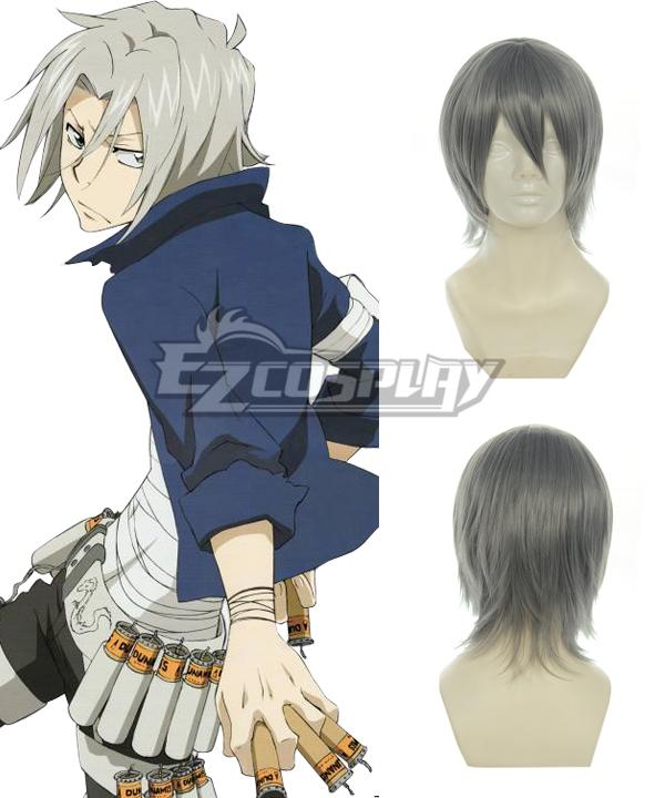 Costumi moda Ezcosplay Hitman Reborn Gokudera Hayato Cosplay Grigio 005A