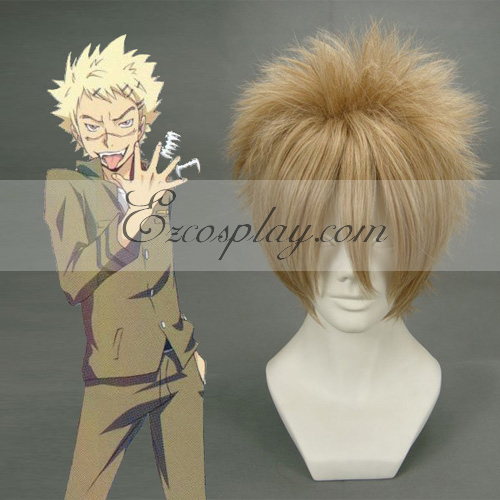 Costumi moda Ezcosplay Hitman Reborn Joushima Ken scuri Cosplay-011F