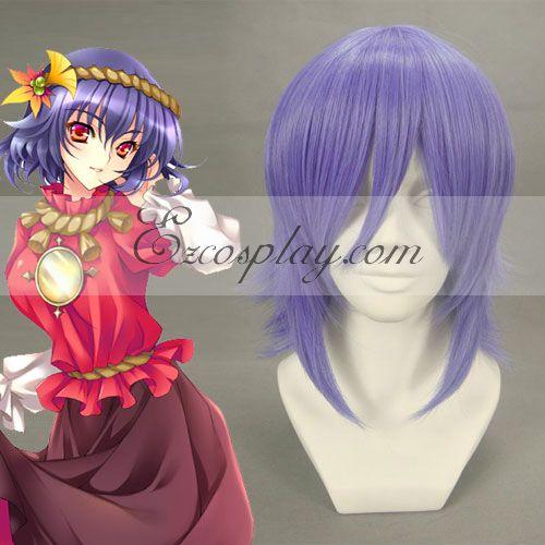 Costumi moda Ezcosplay cosplay Touhou progetto Yasaka Kanako Viola Chiaro Wig-016A