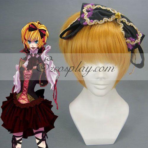 Costumi moda Ezcosplay Vocaloid Kagamine Rin / Len Giallo Cosplay-024A