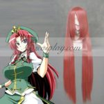 Touhou progetto Hong Meiling Red Light Cosplay-038J