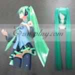 Vocaloid Miku Verde Blu Cosplay-042E