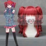 Vocaloid Teto vino rosso Cosplay-043B