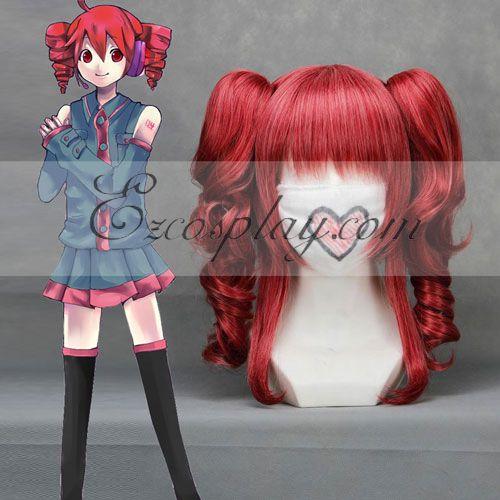 Costumi moda Ezcosplay Vocaloid Teto vino rosso Cosplay-043B