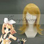 Cosplay Vocaloid Kagamine Rin Giallo Wig-074A