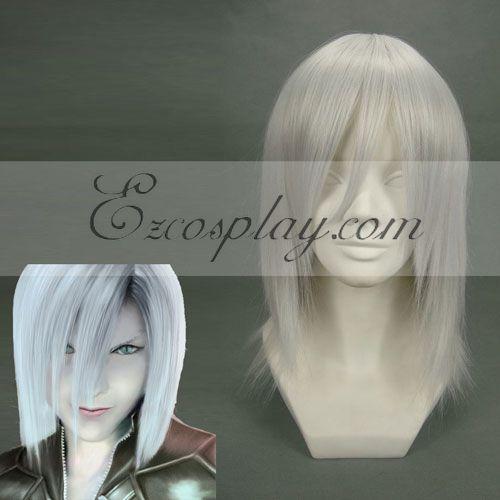 Costumi moda Ezcosplay Cosplay Final Fantasy Kadaj Sliver Wig-077A
