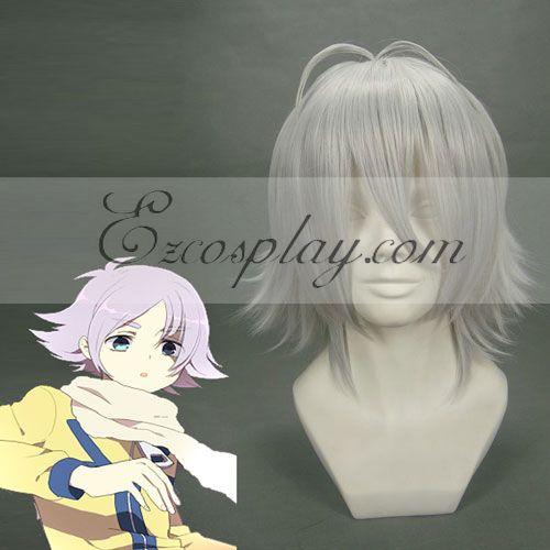 Costumi moda Ezcosplay Cosplay Inazuma Eleven nastro bianco Wig-105A