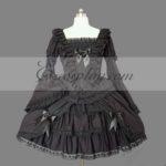 nero Gothic Lolita Dress -LTFS0110