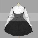 Nero-Bianco Gothic Lolita Dress -LTFS0117