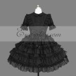 nero Gothic Lolita Dress -LTFS0139