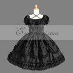 nero Gothic Lolita Dress -LTFS0144