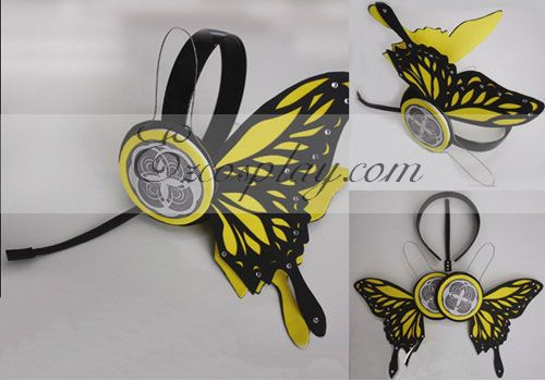 Costumi moda Ezcosplay Vocaloid Len Copslay giallo Prop Headset