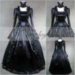 manica lunga nero Gothic Lolita Dress-LTFS0020