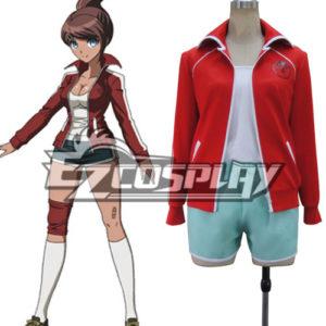 Costumi Fashion Ezcosplay Dangan Ronpa Aoi costume cosplay Asahina