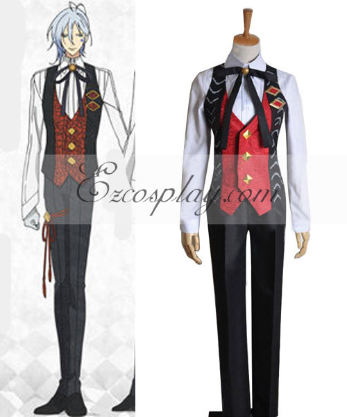Costumi Fashion Ezcosplay AMNESIA Ikki Lavorare costume cosplay Uniform