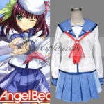angelo batte! Costume cosplay uniforme Nakamura Yuri Scuola
