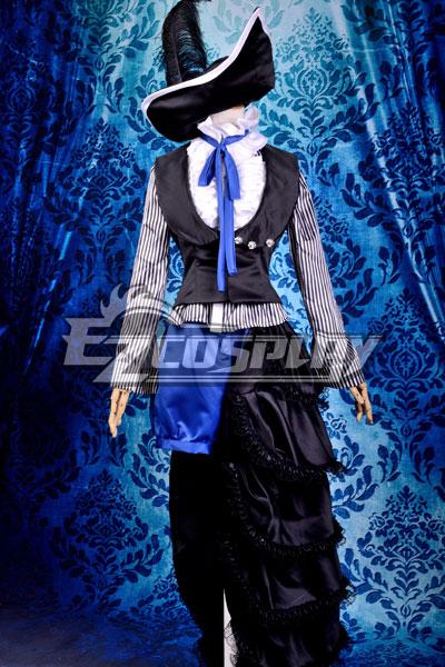 Costumi moda Ezcosplay Nero Bulter Ciel scuro Circo Costume uniforme di Cosplay