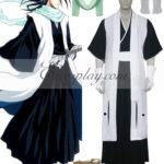 Bleach 6 ° divisione capitano Kuchiki costume cosplay Byakuya