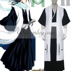 Costumi moda Ezcosplay Bleach 6 ° divisione capitano Kuchiki costume cosplay Byakuya