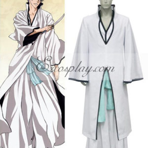 Costumi Fashion Ezcosplay Bleach Ichimaru Gin Hollow costume cosplay
