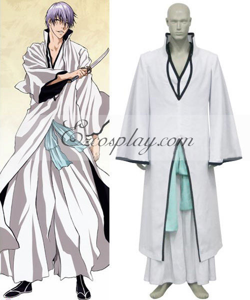 Costumi Fashion Ezcosplay Bleach Ichimaru Gin Hollow costume cosplay