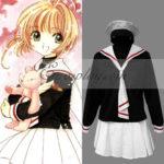 Uniforme Card Captor Sakura Sakura Kinomoto Tomoeda Scuola elementare di Cosplay Custume