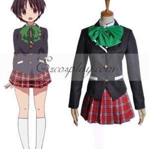 Costumi moda Ezcosplay Chuunibyou Demo Koi ga Shitai Shitai Siyouni costume cosplay Kumin12