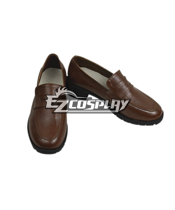 Costumi moda Ezcosplay White Album 2 Scarpe Touma Kazusa Cospaly Brown