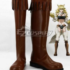 Costumes Fashion Ezcosplay Akame ga KILL! Leone Cosplay calza gli stivali