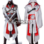 Costume Creed III Brotherhood Ezio Halloween Cosplay di Assassin
