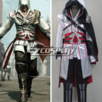 Costume Creed II Brotherhood Ezio Halloween Cosplay di Assassin