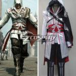 Costume Creed II Brotherhood Ezio Halloween Cosplay di Assassin