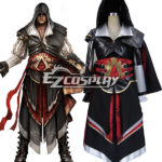 Costume Creed II Ezio Altair Armatura di Cosplay di Assassin