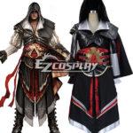 Costume Creed II Ezio Altair Armatura di Cosplay di Assassin