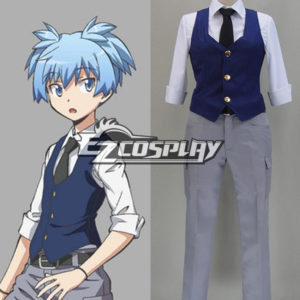Costumi Fashion Ezcosplay Assassinio aula Shiota costume cosplay Nagisa