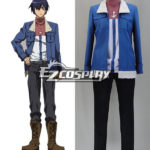 Akame Ga Uccidi! Costume cosplay onda (camicia e cappotto)