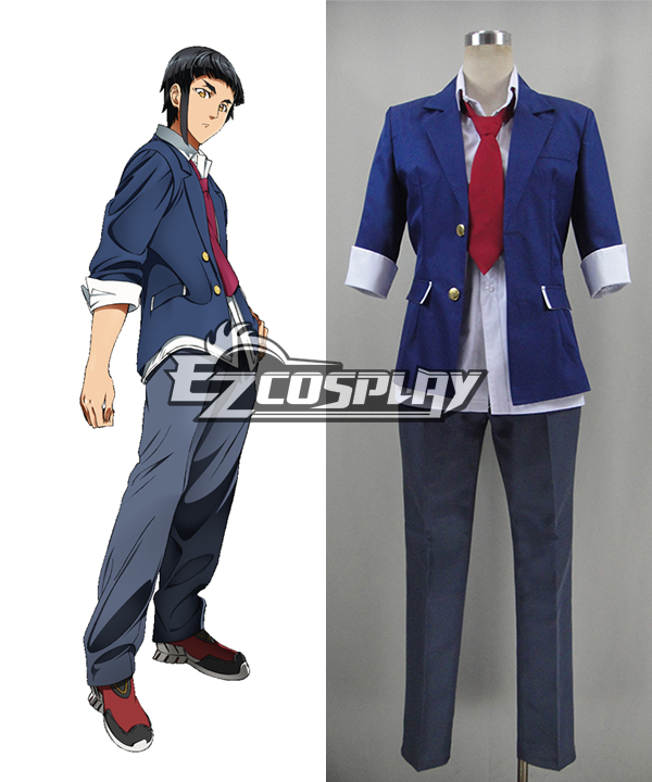 Costumi moda Ezcosplay Aquarion Logos Akuerion Rogosu Akira costume cosplay Kaibuki
