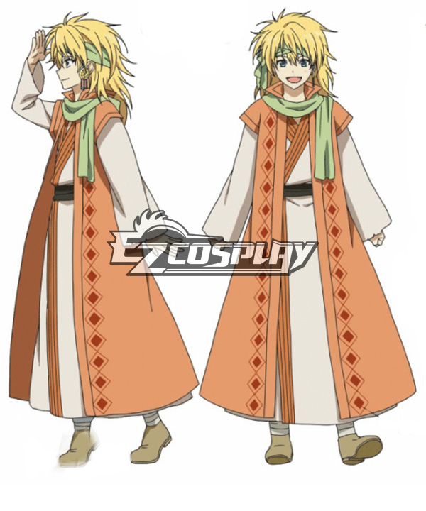 Costumi Fashion Ezcosplay Akatsuki non Yona costume cosplay Zeno