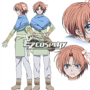 Costumi Fashion Ezcosplay Akatsuki non Yona costume cosplay Yoon