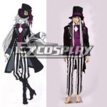 Black Butler costume Undertaker Nuovo Cosplay