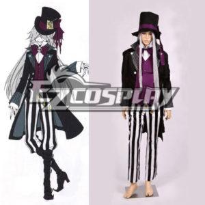Costumi Moda Ezcosplay Black Butler costume Undertaker Nuovo Cosplay