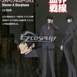 Blood Blockade Battlefront Steven A costume cosplay Starphase