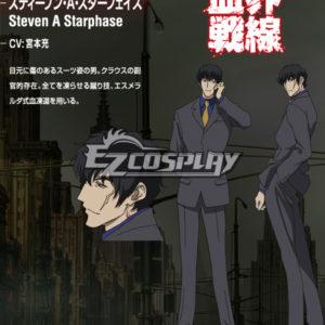 Costumi moda Ezcosplay Blood Blockade Battlefront Steven A costume cosplay Starphase