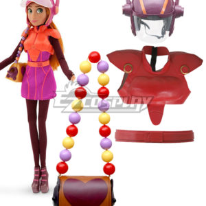 Costumi Moda Ezcosplay Big Hero 6 Honey Lemon Cosplay Armour Set Cosplay Prop