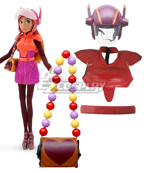 Costumi Moda Ezcosplay Big Hero 6 Honey Lemon Cosplay Armour Set Cosplay Prop