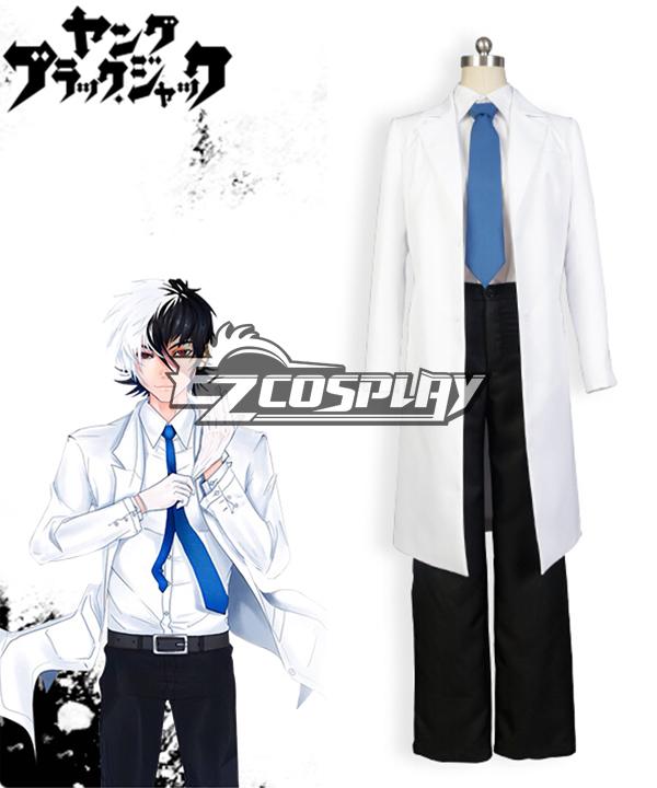 Costumi moda Ezcosplay Burakku Jakku Young Black Jack alias costume cosplay Kuro Hazama