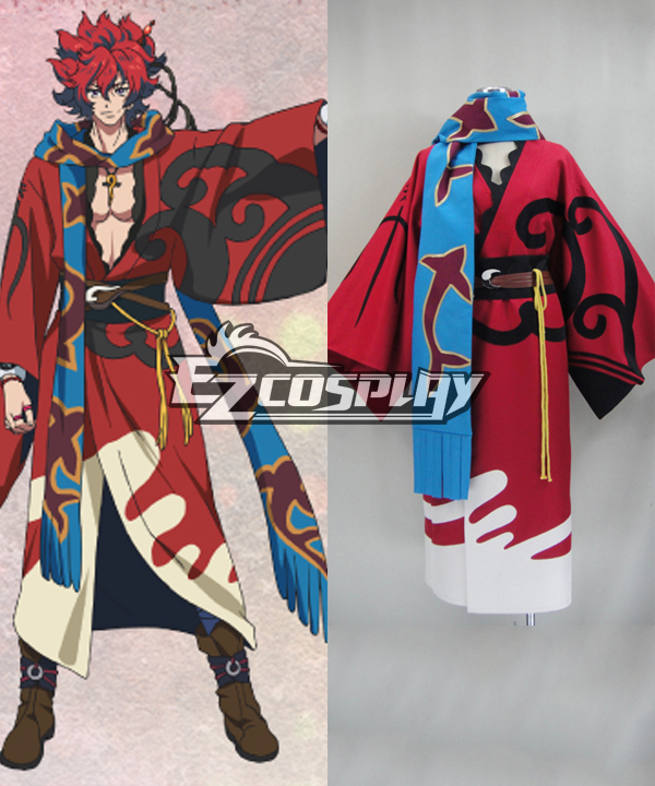 Costumi Fashion Ezcosplay Sakamoto costume cosplay Ryouma Bakumatsu rock