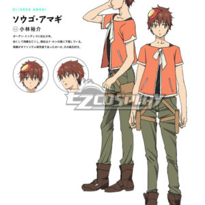 Costumi Fashion Ezcosplay Comet Lucifero Sogo costume cosplay Amagi