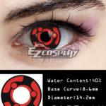 Naruto Uchiha Madara Kaleidoscope scrivere occhi rotondi Cosplay di Lense del contatto