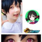 Bella Eye Coscon LoveLive! Love Live Scuola Idol Progetto Nico Yazawa Mei Cosplay Red Lense del contatto